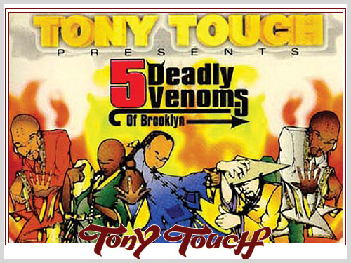 Classic Mixtape: DJ Tony Touch 5 Dealy Venoms CD2 enjoy