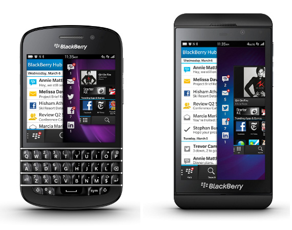BLACKBERRY 10 – OFFICIALLY UNVEILED