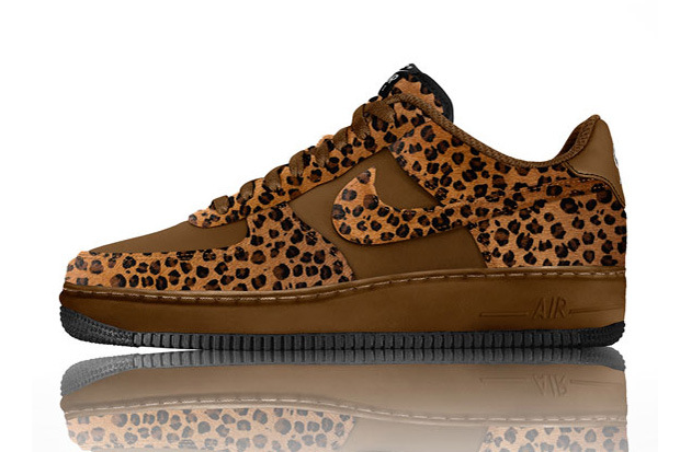 Nike Air Force 1 Id Options Dimpression Animal Cheveux Poney Fenêtres