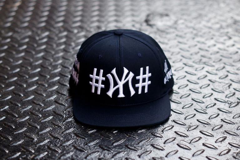 """BEEN TRILL x 40 oz NYC Navy """"#NY#"""" Snapback KITH Exclusive"""