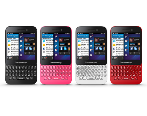 BLACKBERRY – INTRODUCES Q5 FOR EMERGING MARKETS
