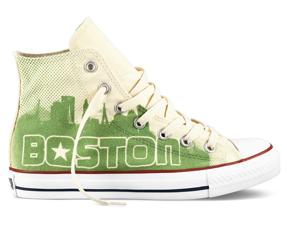 "CONVERSE CHUCK TAYLOR ALL STAR HI ""BOSTON"""