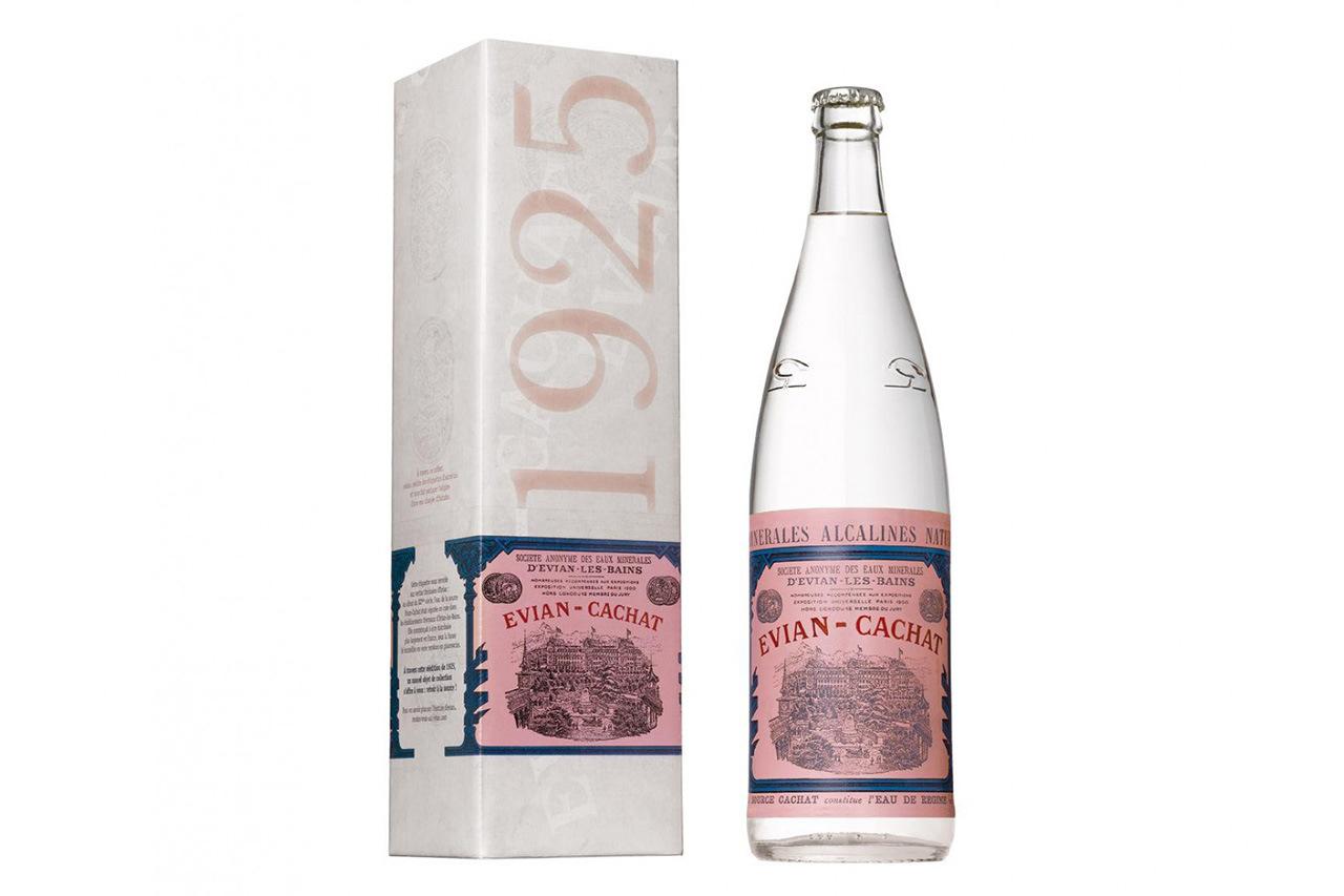 EVIAN 1925 Vintage Bottle