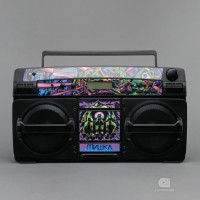 MISHKA X LASONIC – BLUETOOTH GHETTO BLASTER SPEAKER