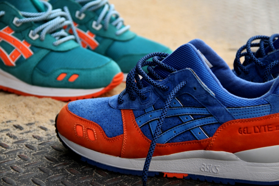 "ASICS X RONNIE FIEG GEL LYTE III ""NEW YORK CITY"" & ""MIAMI BEACH"""