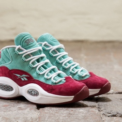 """Sneakersnstuff x Reebok Question Mid """"A Shoe About Nothing"""""""