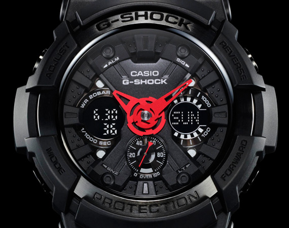 "SUPRA X CASIO G-SHOCK GA-200SPR-1AJR WATCH – ""IT'S ABOUT TIME"" EDITION"