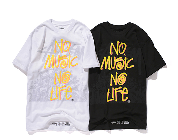 STUSSY X TOWER RECORDS – SUMMER FESTIVAL GOODS COLLECTION