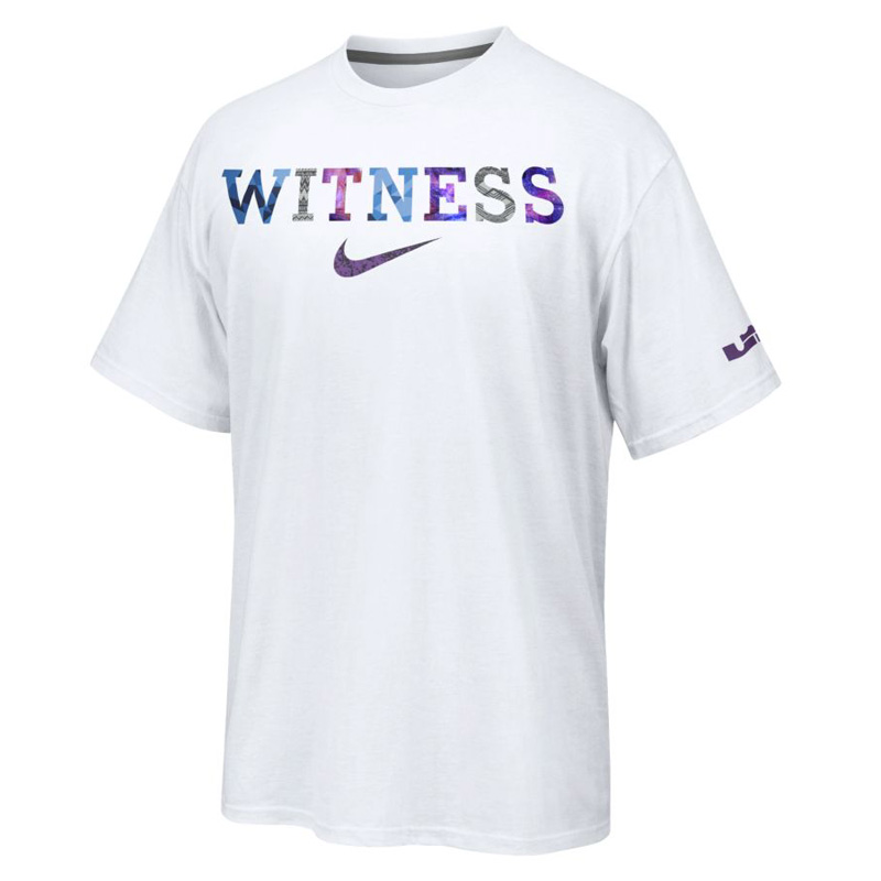 ... NIKE WHAT THE LEBRON – WITNESS T-SHIRT .