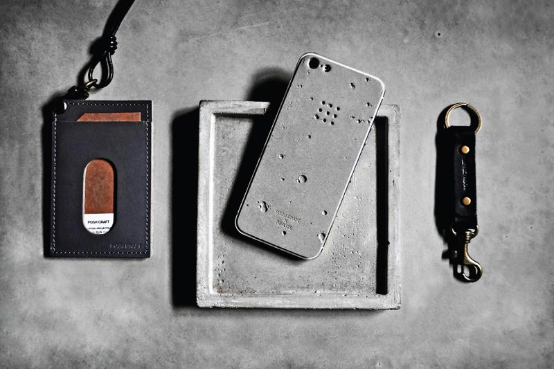 "Posh Craft x Realize ""Luna"" Concrete Skin for iPhone 5"