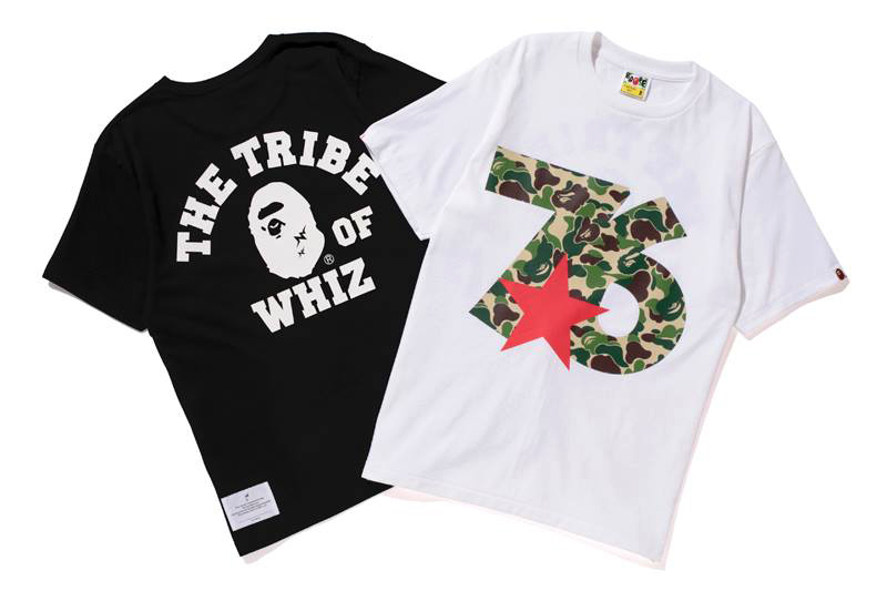 "WHIZ LIMITED x A Bathing Ape 2013 ""76″ TEE"