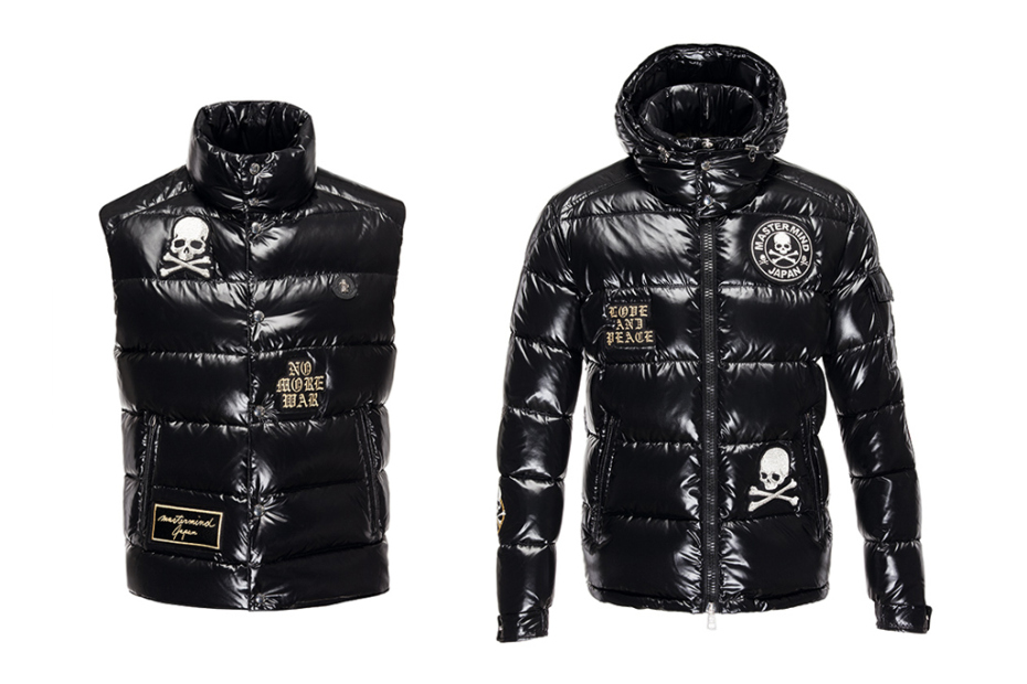 MONCLER X MASTERMIND JAPAN MEN'S JACKET BLACK