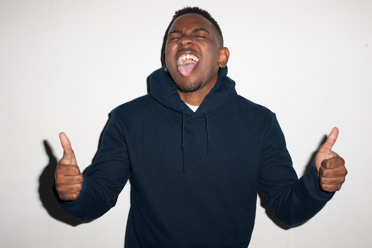 Kendrick Lamar Visits Terry Richardson's Studio
