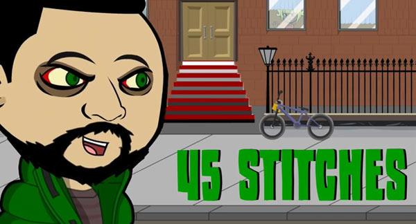 "4word Presents: Terror Green ""45 Stitches"""