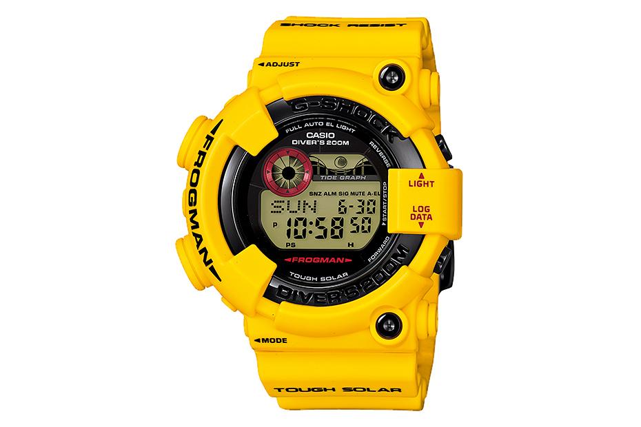 "Casio G-Shock 30th Anniversary ""Lightning Yellow"" Collection"