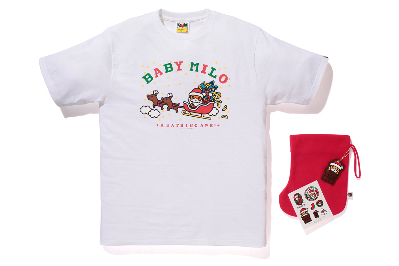 404f56eac97f A Bathing Ape BABY MILO Christmas Collection – TheDropnyc