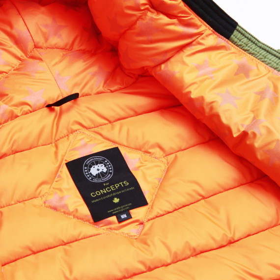 Canada Goose kids outlet fake - CONCEPTS X CANADA GOOSE �C MA-1 LODGE HOODY DOWN JACKET �C TheDropnyc