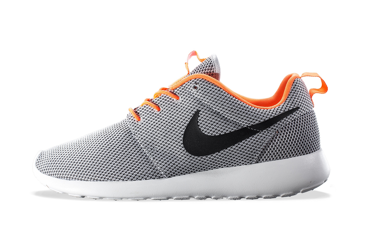Nike Roshe Run Gray Orange