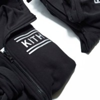 KITH – BLACK BERGEN REVERSIBLE HOODIE + BLACK BLEECKER SWEATPANT