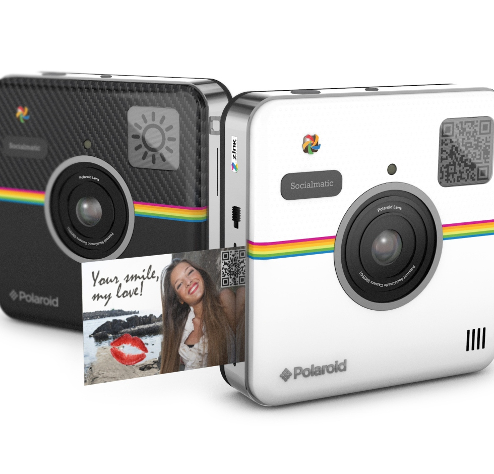 Polaroid Socialmatic Concept Camera