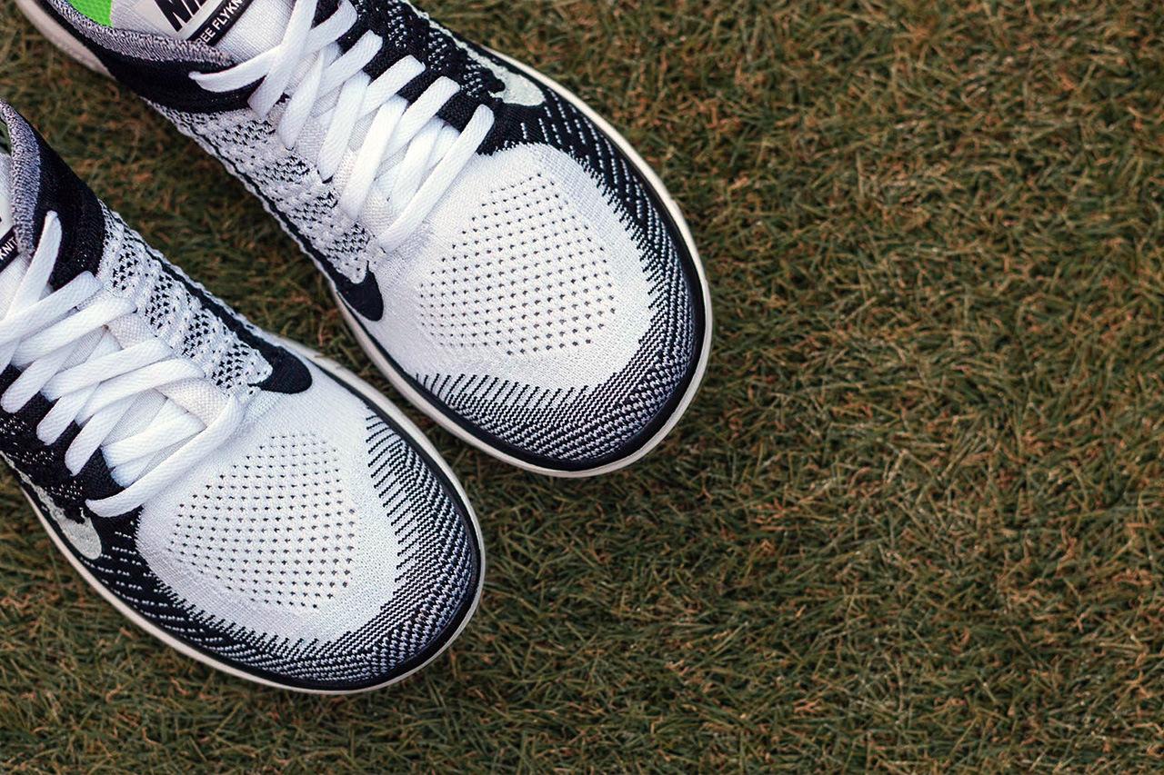 Nike Free Flyknit 4.0 Weiß