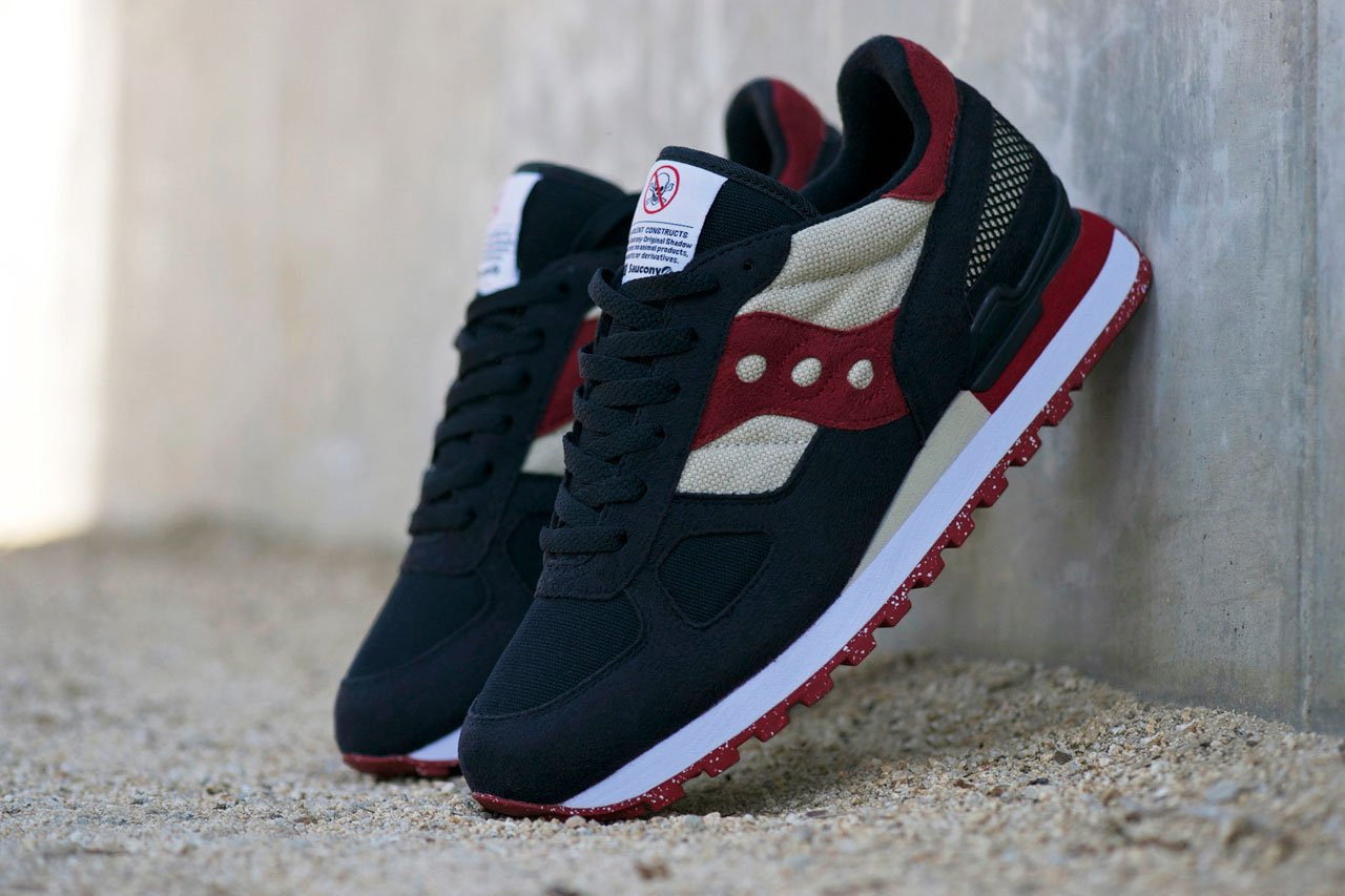 new styles 0056a 40469 saucony shadow red black