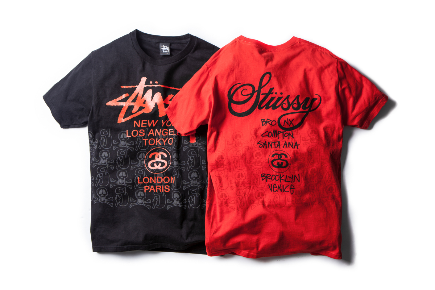 "Stussy 2014 Spring/Summer ""Skulls Tee"" Collection"