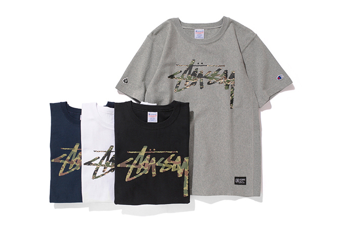 """552f6d8b54d1 Stussy x Champion Japan 2014 Spring/Summer """"Reverse Weave"""" Collection ..."""