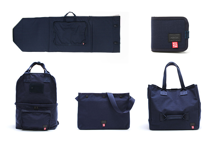"S/DOUBLE × B mark YOSHIDA × Porter ""Surf City"" Bag Collection"