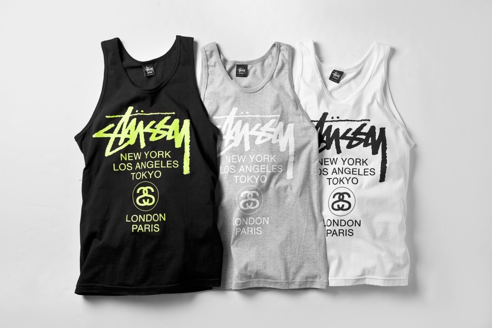 Stussy 2014 Spring/Summer World Tour Tanks