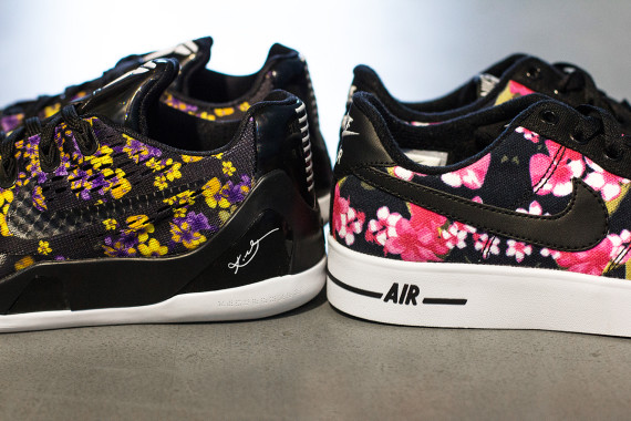 sports shoes e18bc 362a3 nike air force 1 ac grade school floral