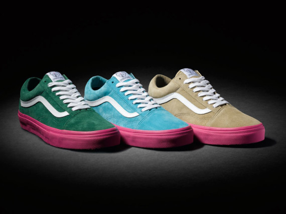 "ODD FUTURE X VANS SYNDICATE OLD SKOOL PRO ""S"" – SUMMER 2014 ""GOLF WANG"" PACK"