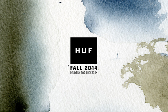 HUF – FALL 2014 APPAREL COLLECTION - DELIVERY 2 LOOKBOOK