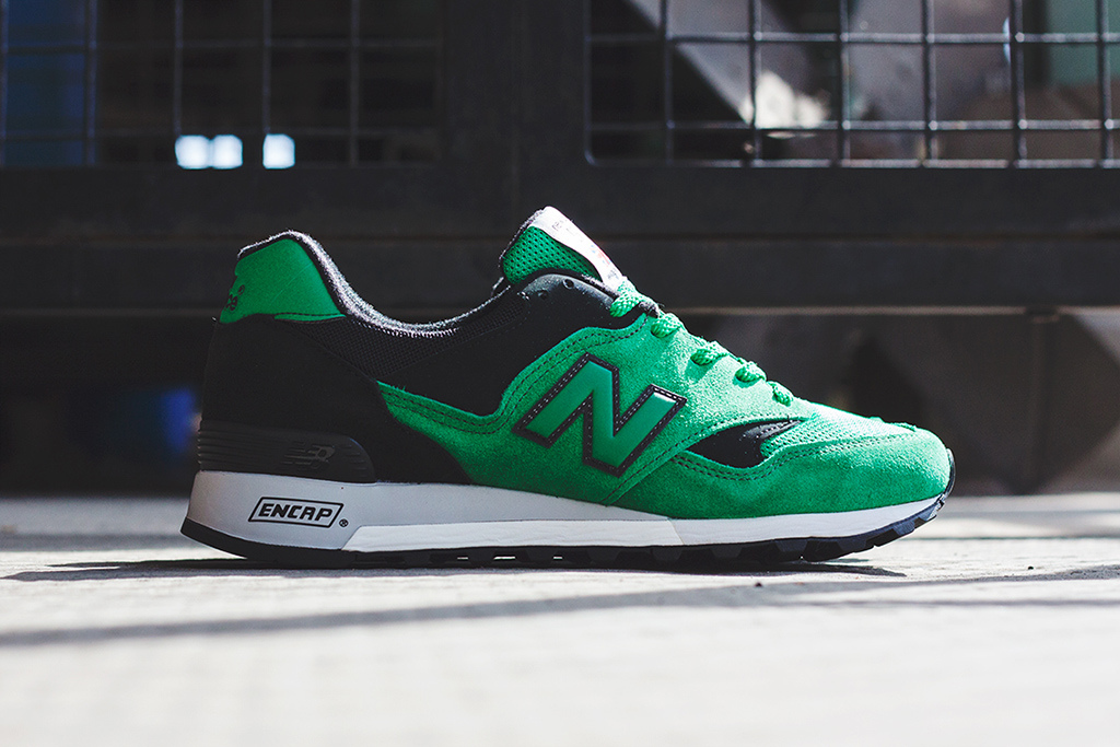 new balance 577 green orange