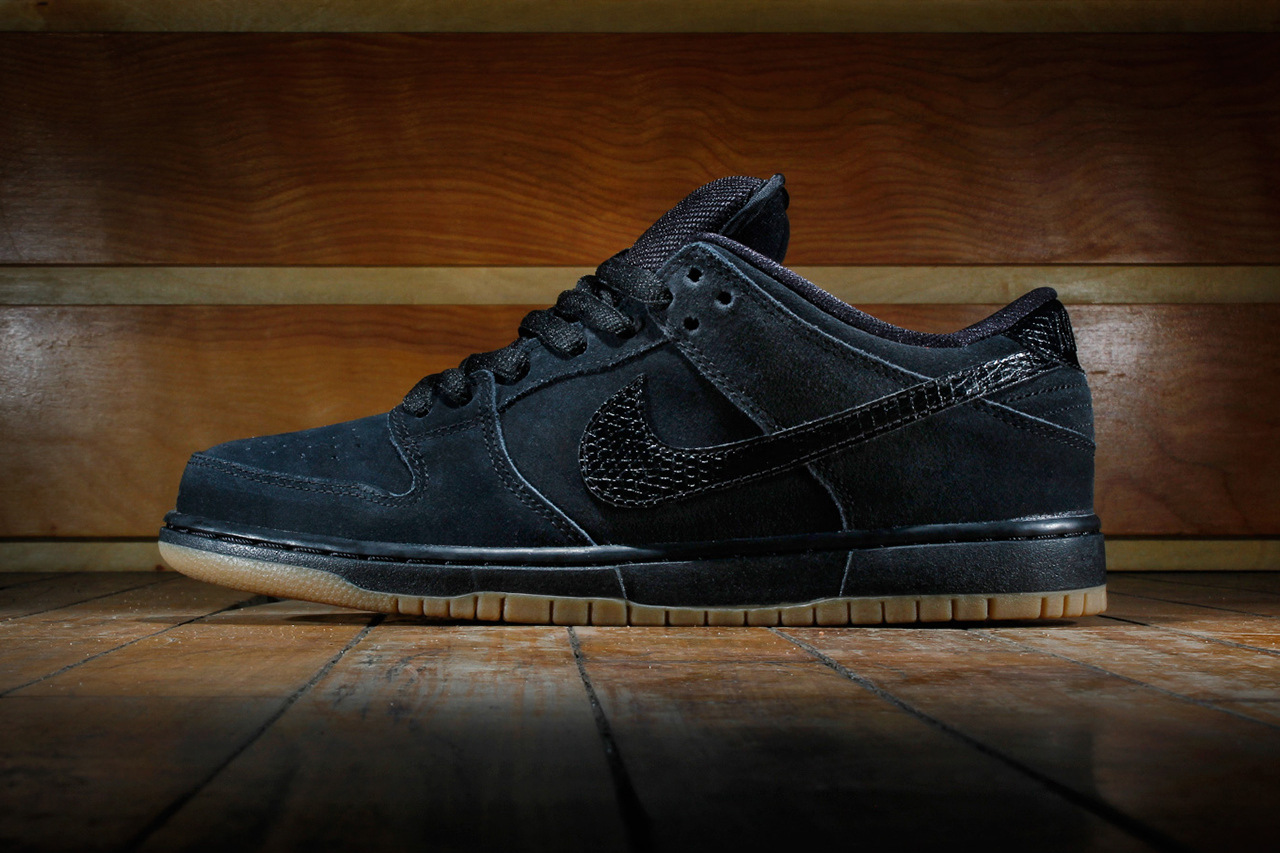 black sb dunks