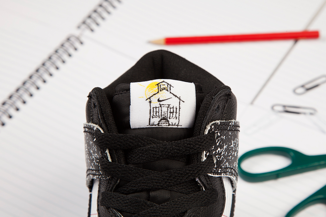 """on sale 56742 81647 Another Look at the Nike Dunk High Premium QS """"Back to School"""""""