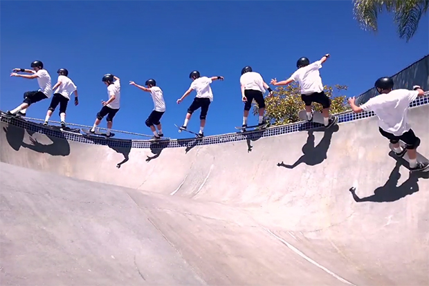"""Skateboarding """"Time Collapse"""" Film Shows Painstaking Attention to Detail"""