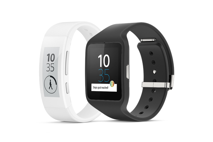 Sony SmartBand Talk & SmartWatch 3