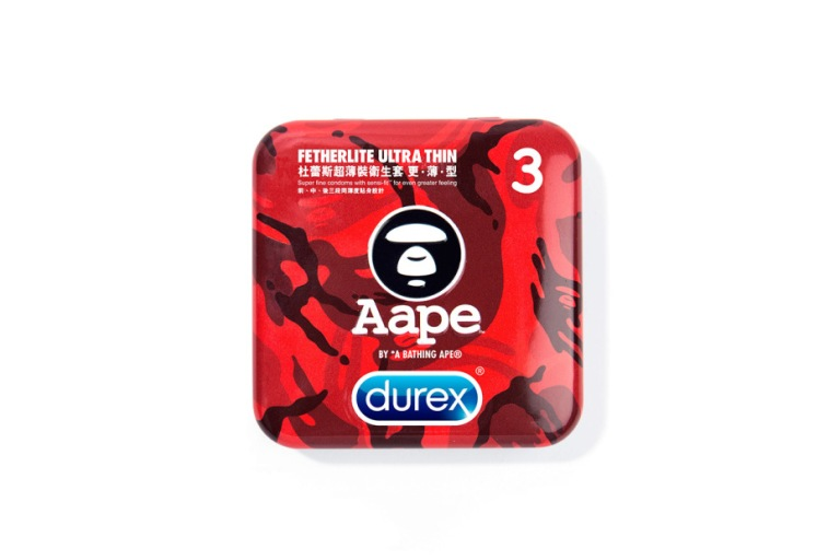Durex x AAPE by A Bathing Ape Cases