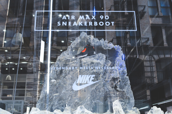 NIKE SNEAKERBOOT INSTALLATION AT KITH NYC