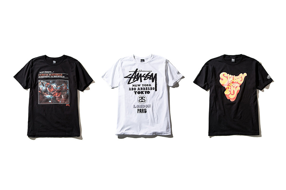 Curtis Mayfield x Stussy Guest Artist Series