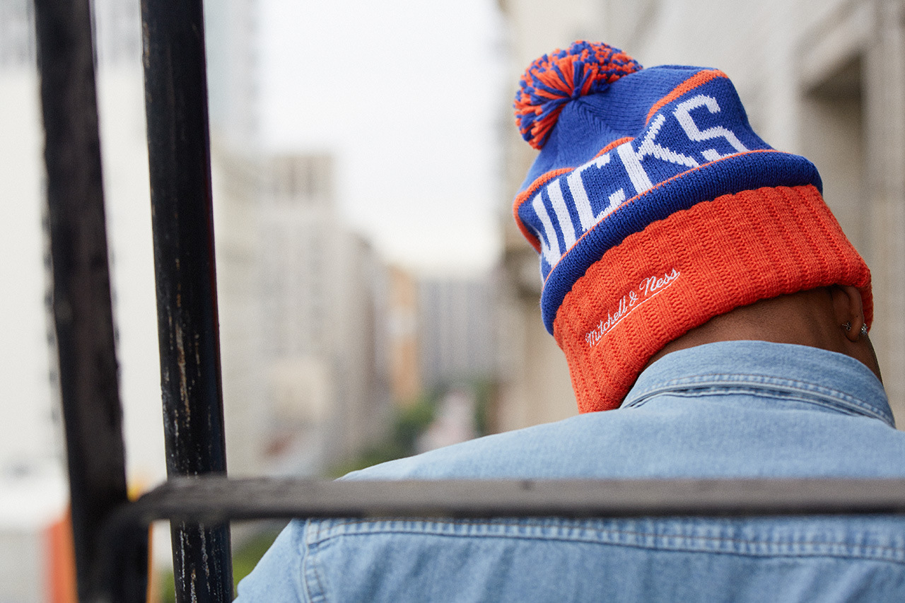 Mitchell & Ness Pairs with the NBA for a Collection of Knit Hats at LIDS