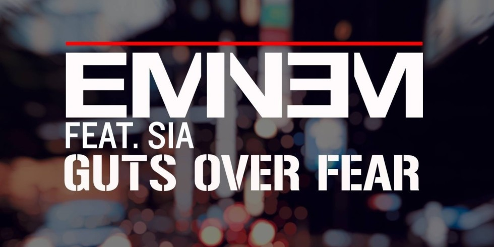 """Eminem featuring Sia """"Guts Over Fear"""" Music Video"""