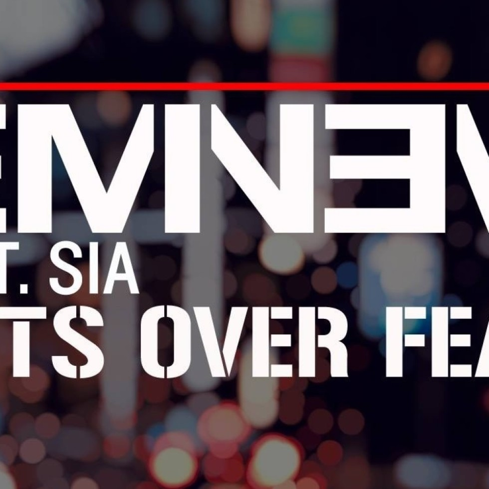 "Eminem featuring Sia ""Guts Over Fear"" Music Video"