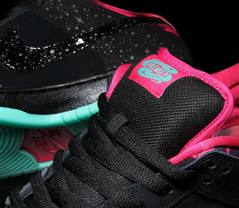 "Premier x Nike SB Dunk Low Pro ""Northern Lights"""