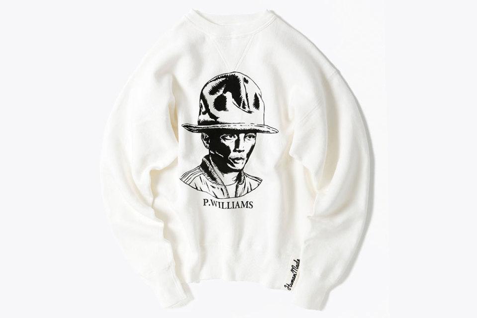 "HUMAN MADE x BEAMS ""Pharrell"" Sweater"