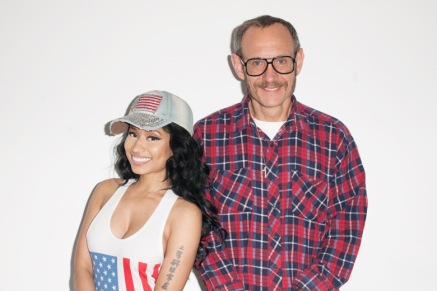 Nicki Minaj Rolling Stone Cover Outtakes by Terry Richardson