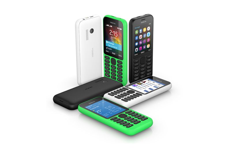 The Nokia 215 is Microsoft's Most Affordable Internet-Ready Phone