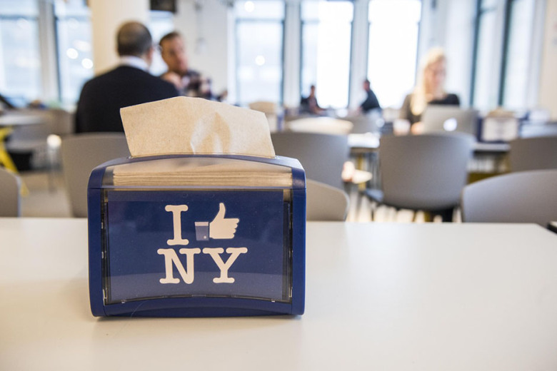 An Insider's Look at Facebook's New York Cafeteria