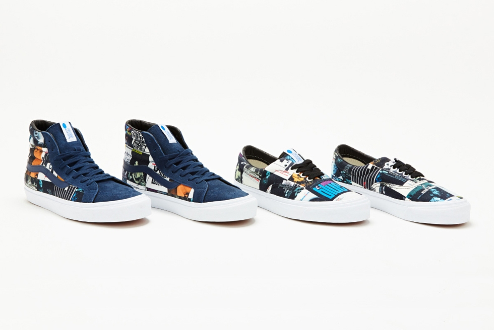 "DQM X VANS X BLUE NOTE ""THE COLORS"" PACK"